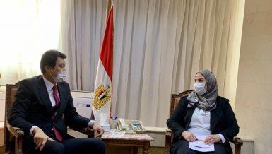 Egypt, South Korea discuss ways to expand social welfare cooperation