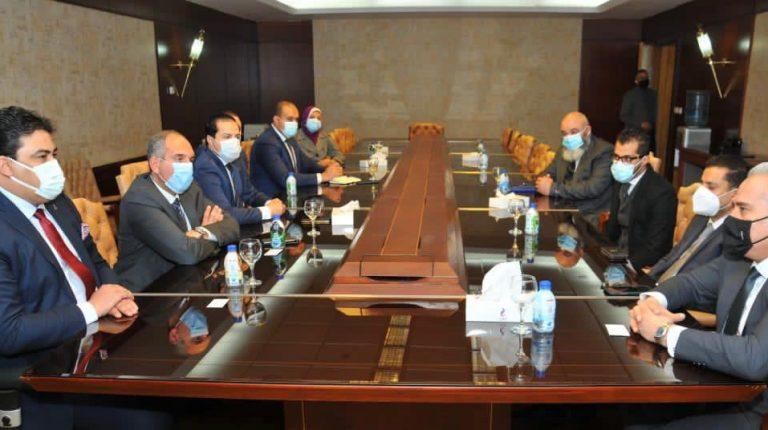 Telecom Egypt, Libyan International Telecommunication discuss joint cooperation