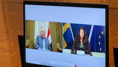 Egypt, Sweden discuss strengthening joint cooperation, regional conditions