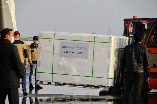 First batch of Chinese coronavirus vaccines arrives in Uzbekistan