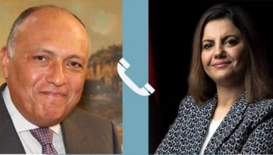 Ahmed Hafez, Spokesperson for Egypt's Ministry of Foreign Affairs, said that the phone call touched on ways to strengthen bilateral relations between the two countries, as well as exchange views on the latest developments in Libya.
