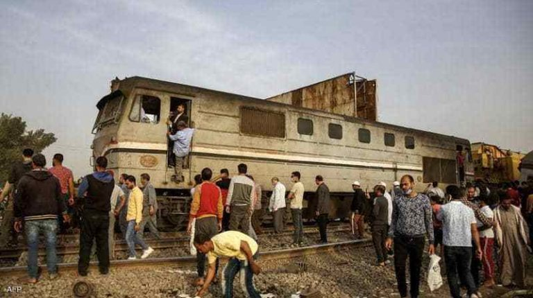 Egypt's Transport Minister blames 'extremist elements' for some train accidents