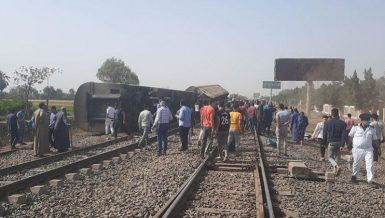 11 dead, 98 injured as train derails in Banha en route to Mansoura: Health Ministry