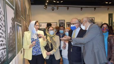 Exhibition featuring Italian architects' creations in Egypt inaugurated