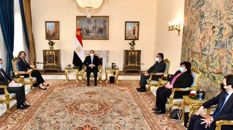 President Al-Sisi asserts government's efforts to protect Egyptian antiquities