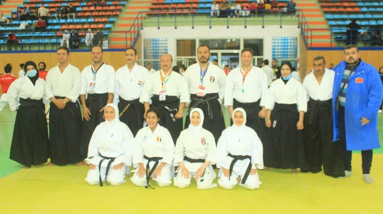 Ramy El-Makawi, President of the Egyptian Traditional Karate Federation