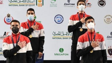 Egypt's national youth fencing team achieves world glory