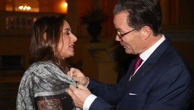 Founder Nadine Abdel Ghaffar receives France's Ordre des Arts et des Lettres