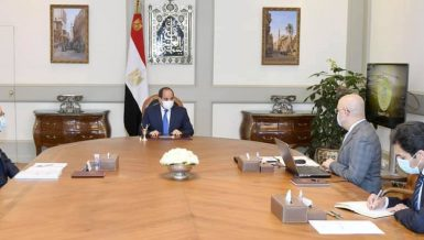 Al-Sisi reviews housing programmes, Historic Cairo development project