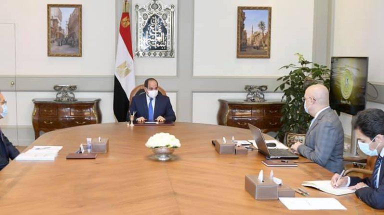 Al-Sisi reviews housing programmes, Historic Cairo development project