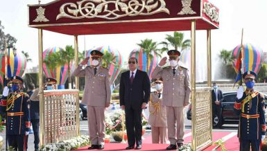 Sinai Liberation is model of conquering despair, frustration: Al-Sisi