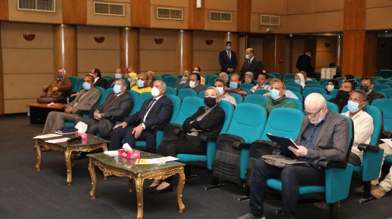 Egypt's Environment Minister witnesses closing of training on sanitary landfills