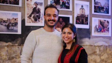 Solafa Magdy and Hossam Al-Sayyad