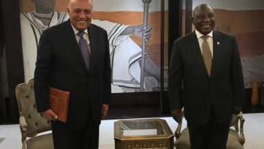 Egypt, South Africa discuss latest GERD developments