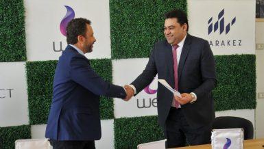 Telecom Egypt provides fastest internet services for MARAKEZ projects