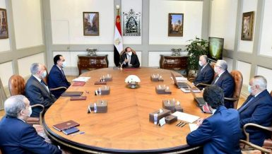 Al-Sisi inspects Egypt's upgraded irrigation management system