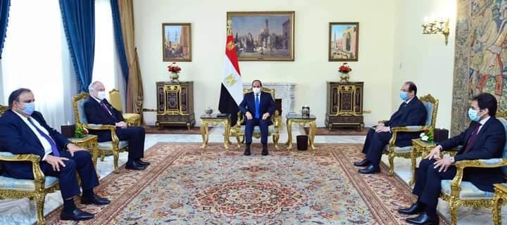 Al-Sisi affirms depth of Egypt-US ties, praises counterterrorism cooperation