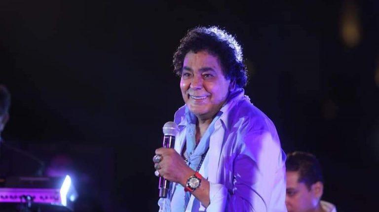 Mohamed Mounir performs at concert celebrating Sinai Liberation Day