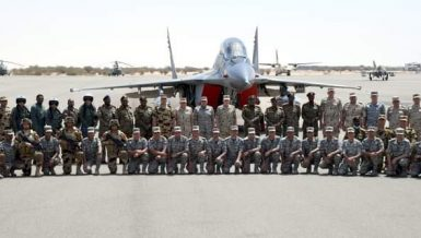 "Egypt, Sudan conclude joint ""Nile Eagles - 2"" air force training"