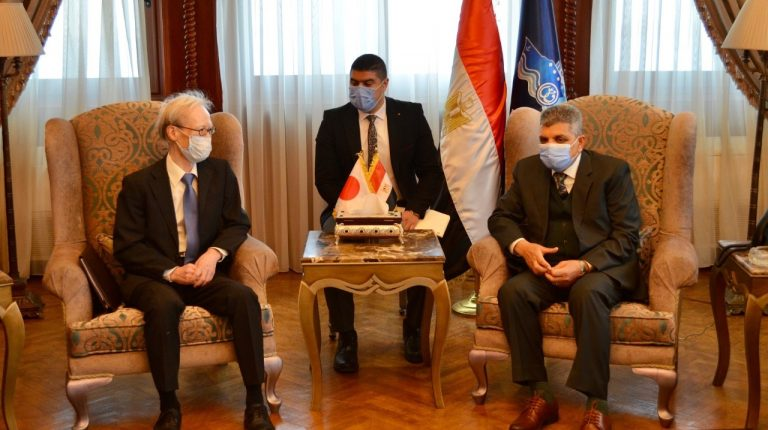 Egypt's Suez Canal Authority, Japan exchange views on strengthening bilateral cooperation