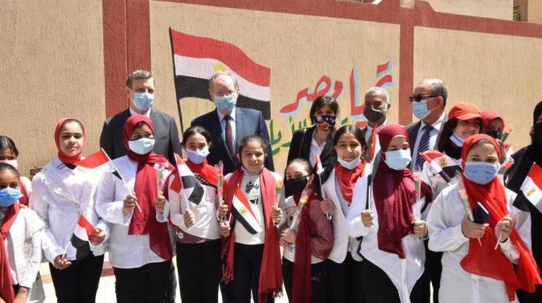 EU, EIB, MSMEDA inspect Community Development Programme projects in Port Said