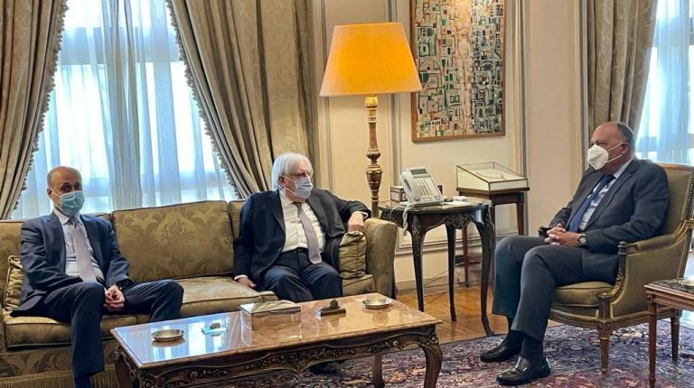 Egypt affirms support for political solution in Yemen