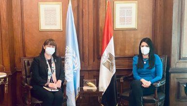 Egypt, UN discuss cooperation programmes, social solidarity projects