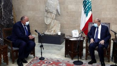 Egypt continues all efforts to resolve Lebanon crisis: FM Shoukry