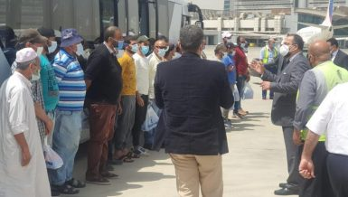 Egyptian fishermen detained in Eritrea return home