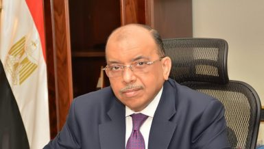 Egypt's Minister of Local Development Mahmoud Shaarawy