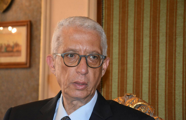 Egypt's Deputy Foreign Minister for African Affairs Hamdi Sanad Loza