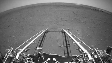 China's Mars probe sends back first videos and photos after landing