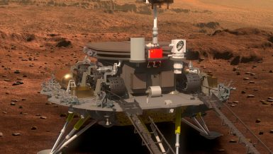 Landing of Chinese Mars rover a great achievement, say experts