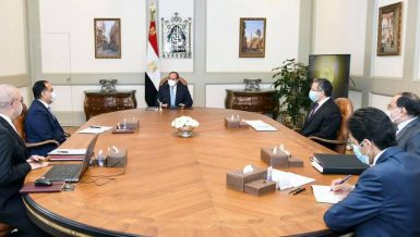 Egypt's Al-Sisi follows up on tourism development projects