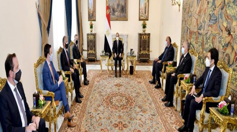 Egypt will accept no harm to its water interests: Al-Sisi