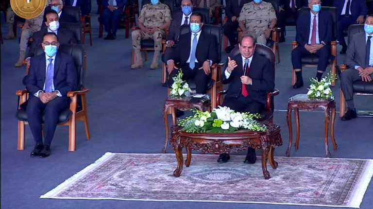Egypt develops Suez Canal in line with international trade movement: Al-Sisi
