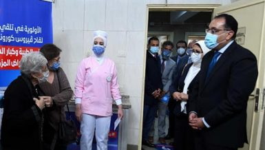 Egypt to receive over 6 million doses of COVID-19 vaccines next June: Madbouly