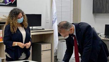 US Ambassador Inaugurates the New American Corner in Alexandria