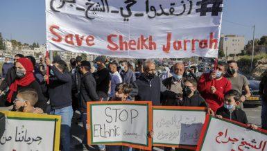 22 Palestinians injured during Israeli aggression on Sheikh Jarrah neighborhood