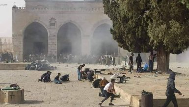 Egypt slams Israel's storming of Al-Aqsa Mosque