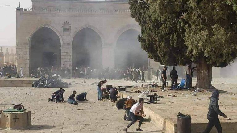Egypt slams Israel's storming of Al-Aqsa Mosque