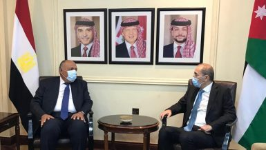 Egypt, Jordan assert need for comprehensive peace in Middle East