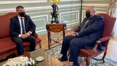 Two-state solution only way to achieve lasting Middle East peace: Shoukry