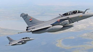 Egyptian, French armies carry out joint naval, air drills