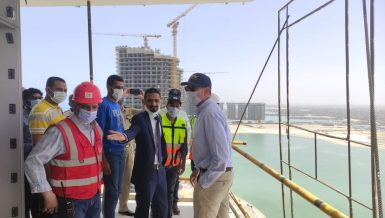 German Ambassador to Egypt inspects New Alamein City projects
