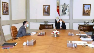 Al-Sisi directs completing electricity projects in Sinai on time