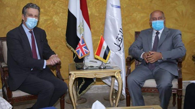 Transport Minister, UK Ambassador discuss bilateral cooperation in railways, electric tractors, metro