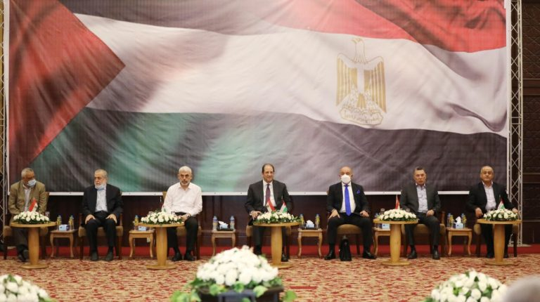 Gaza rebuild, internal reconciliation top Egypt's talks with Palestinian factions