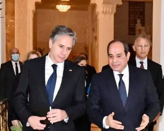 Egypt's Al-Sisi underlines need for Palestinian-Israeli negotiations to resume