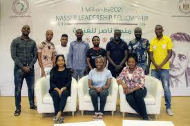 56.7% of Egypt's Nasser Leadership Fellowship participants are African